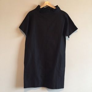 cos | folded collar dress
